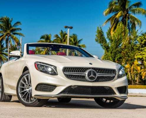 Аренда Mercedes S Cabriolet в Майами
