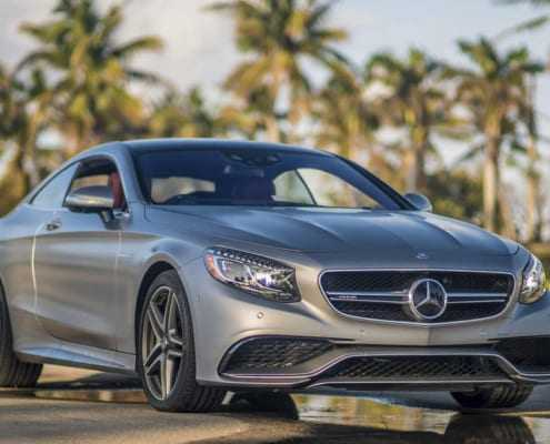 Аренда Mercedes S63 Coupe в Майами