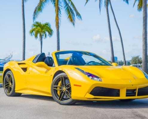 Аренда Ferrari 488 Spider 2018 в Майами
