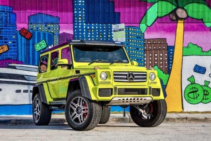 Mercedes 4x4 rental Miami