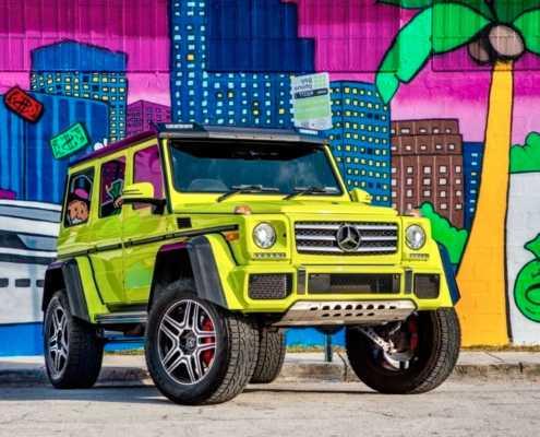 Аренда Mercedes-Benz G550 4x4 в Майами