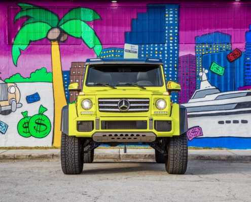 Mercedes 4x4 rental Miami