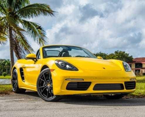 Аренда Porsche Boxter в Майами