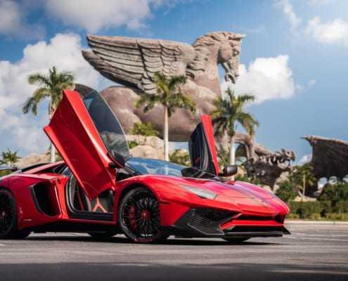 Аренда Lamborghini Aventador SV Roadster 2019 в Майами