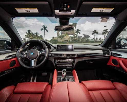 BMW X6 rental Miami