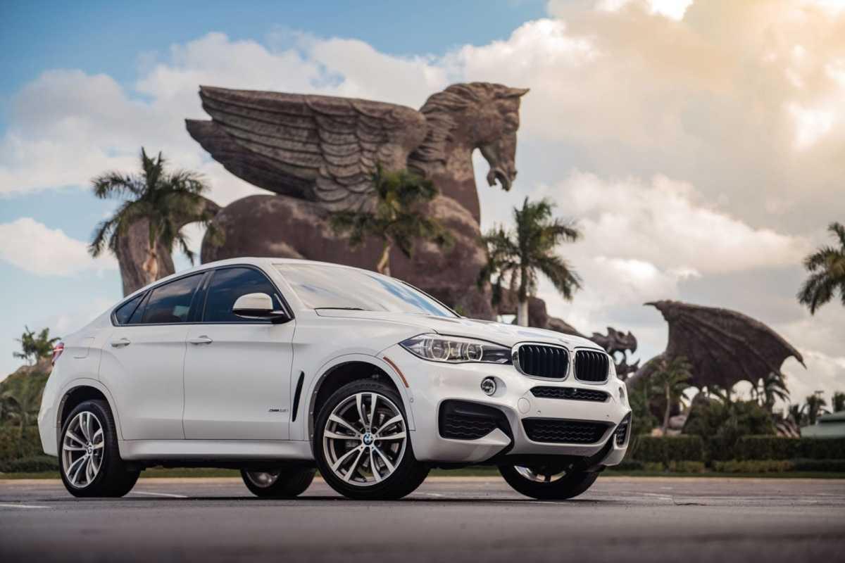 BMW X6 rental Miami