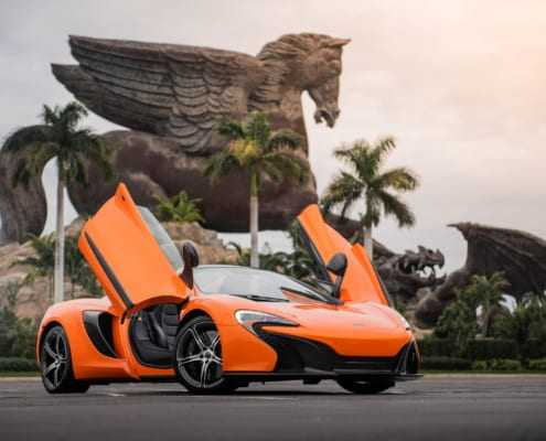 Аренда McLaren в Майами