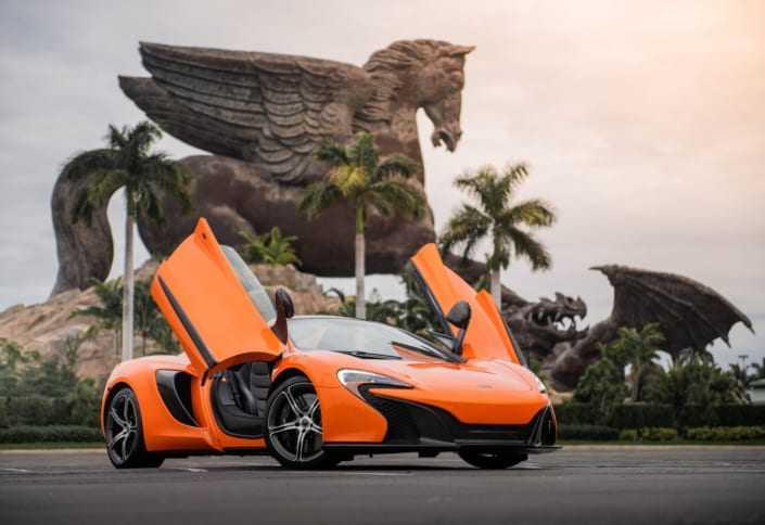 McLaren 650S rental Miami