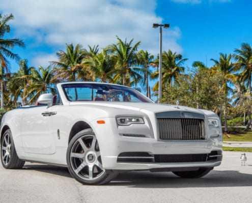 Аренда Rolls Royce Dawn 2018 в Майами