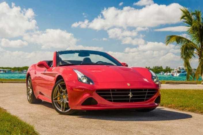 Ferrari California T rental Miami