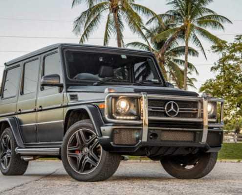 Аренда Mercedes G63 2018 в Майами