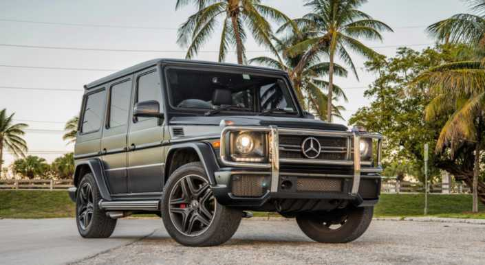 Mercedes G63 rental Miami