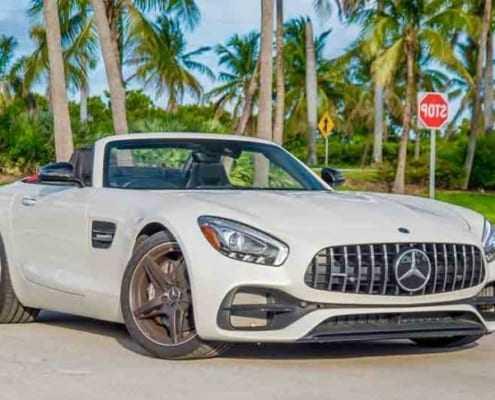 Аренда Mercedes GT Roadster 2018 в Майами