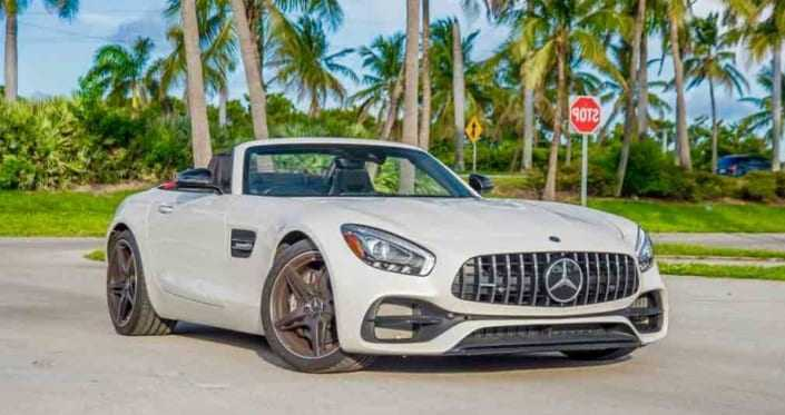 Mercedes GT Roadster