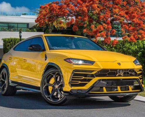 Аренда Lamborghini в Майами