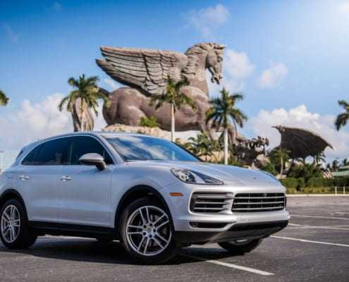 Аренда Porsche Cayenne 2019 в Майами