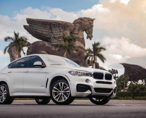 Аренда BMW X6 2019 в Майами