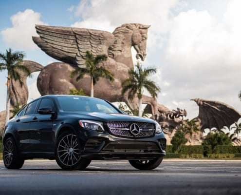 Аренда Mercedes Benz GLC AMG 2019 в Майами