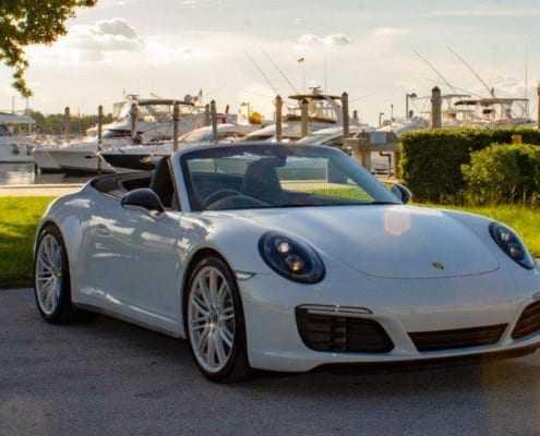 Аренда Porsche 911 в Майами