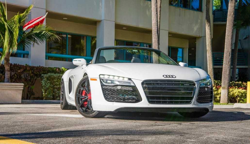Rent Audi R8 V10 Spyder In Miami Pugachev Luxury Car Rental
