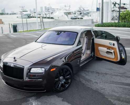 Rolls Royce Wraith rental Miami