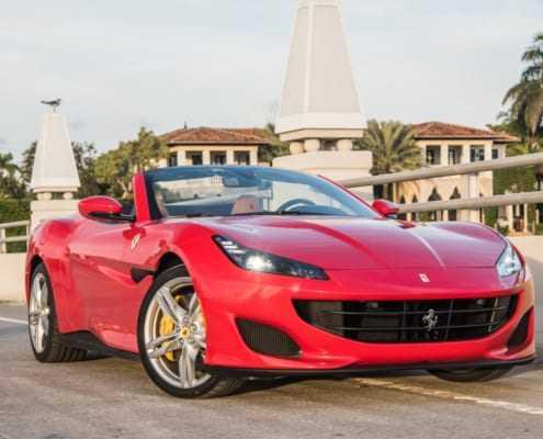 Аренда Ferrari Portofino Spyder в Майами