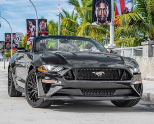 Аренда Ford Mustang GT 2019 в Майами