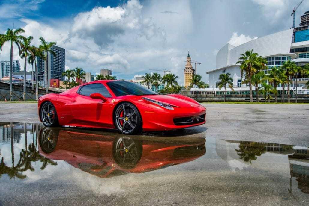How much to rent a Ferrari in Miami - Pugachev Luxury Car Rental