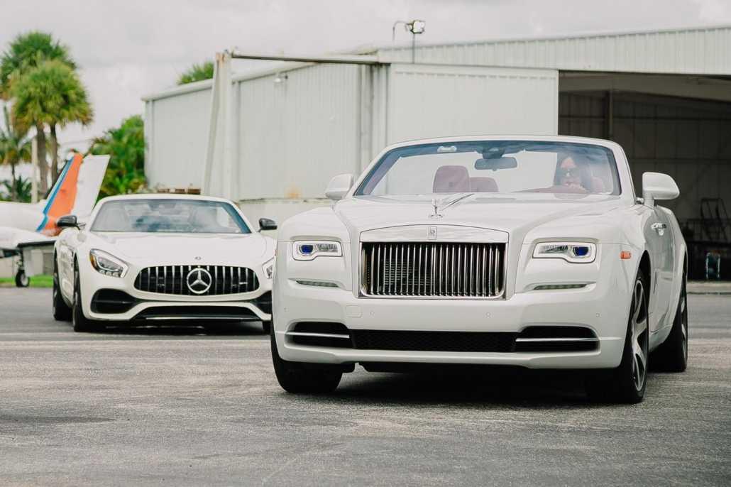 Wedding luxury car rental in Miami - Pugachev Luxury Car Rental