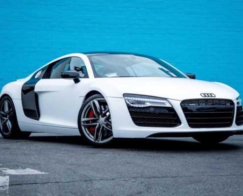 Audi R8 V10 2018 Coupe rent in Miami