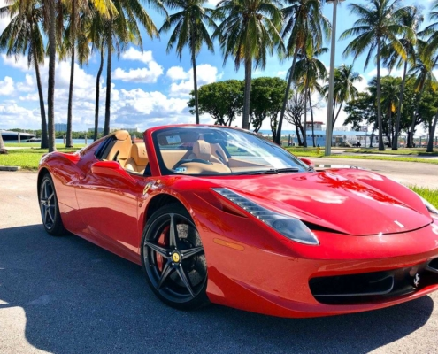 Ferrari 458 F1 rent in Miami