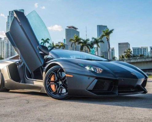 Lamborghini Aventador miami