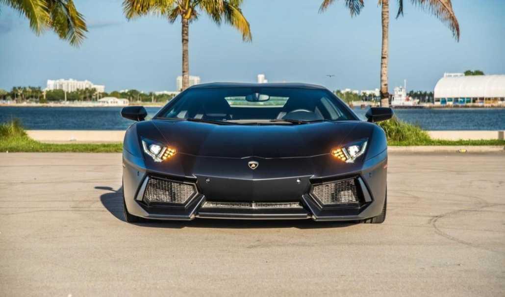 Rent Lamborghini Aventador Matte in Miami - Pugachev ...