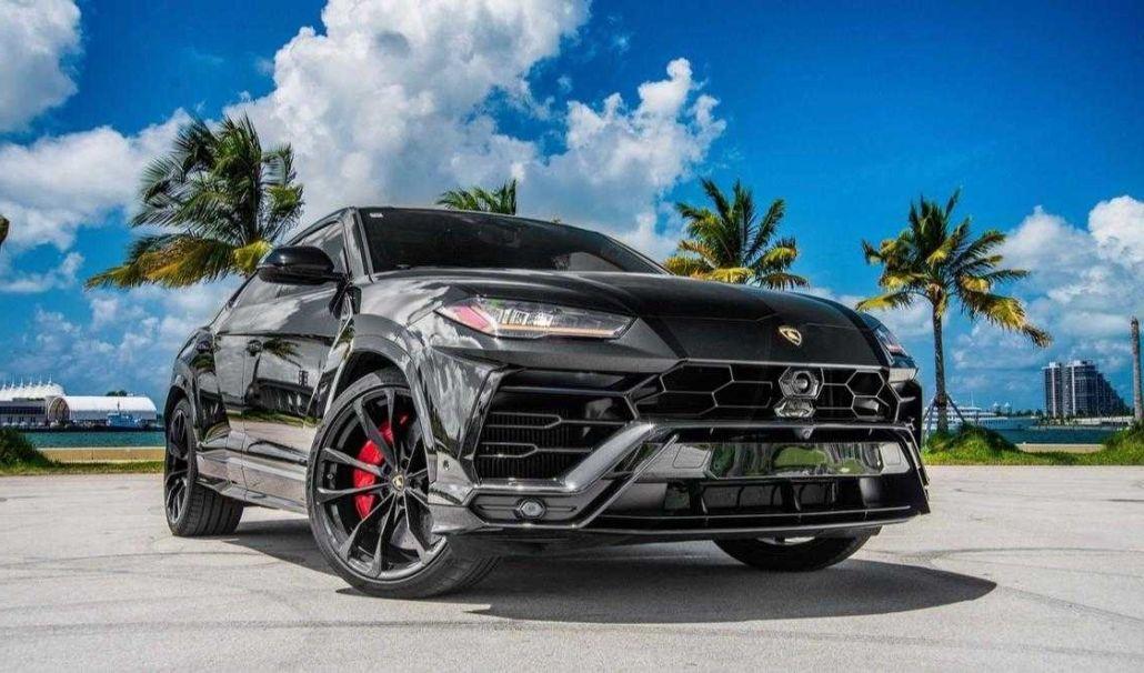 Rent Lamborghini Urus Black In Miami Pugachev Luxury Car Rental