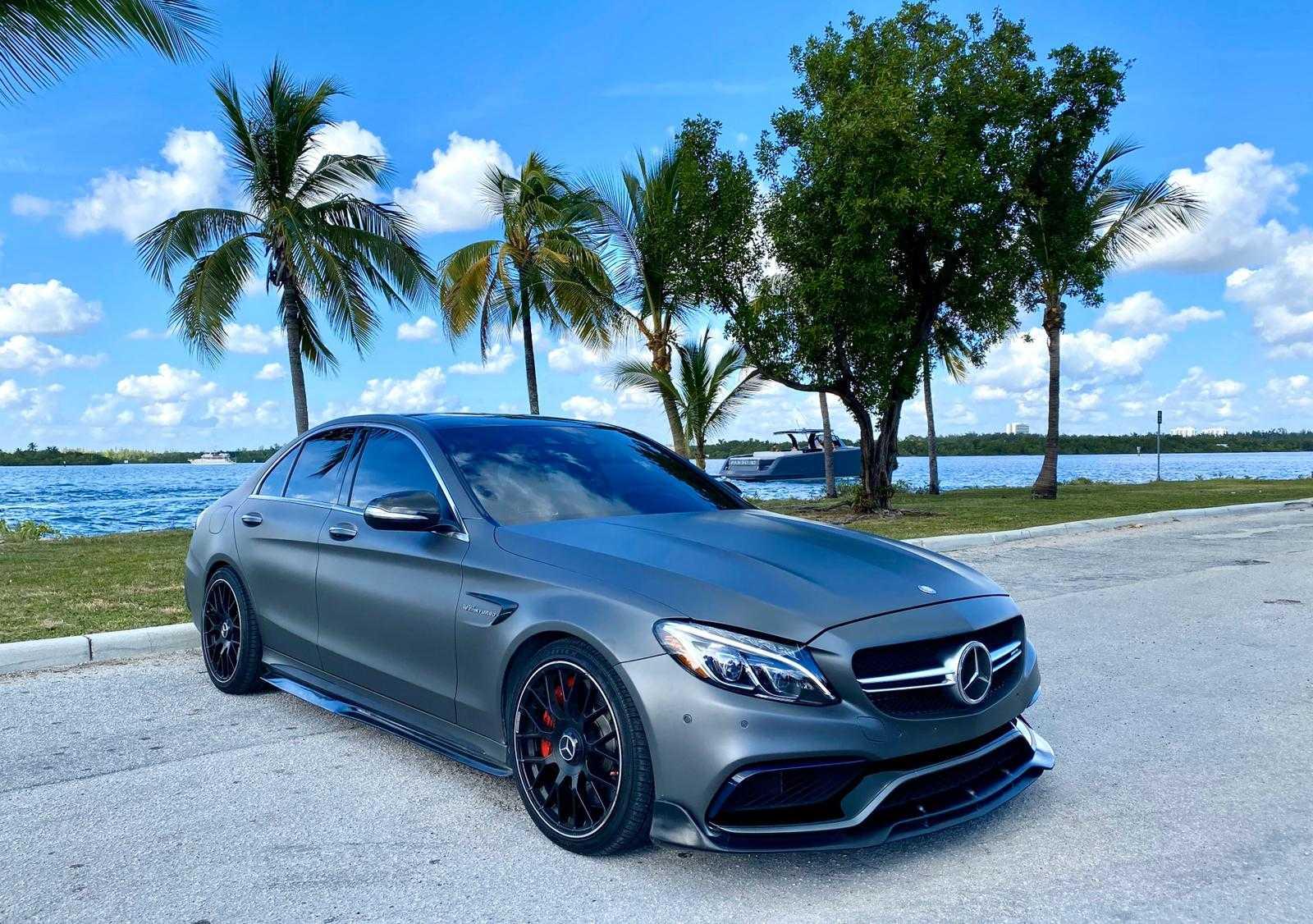 Rent Mercedes Benz C63s Amg Sedan In Miami Pugachev