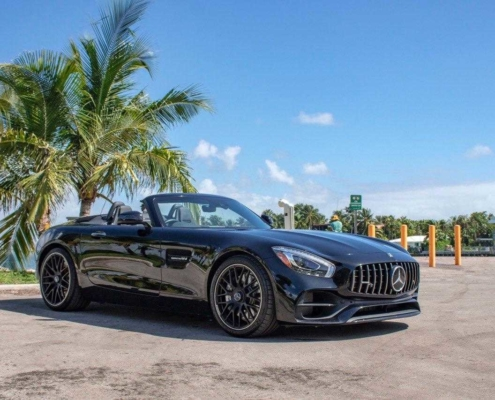 Mercedes GT roadster 2019