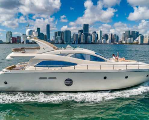 Rent Yacht Aicon 69 in Miami