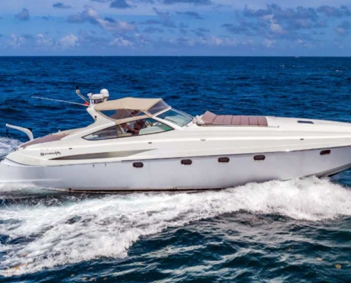 Rent Yacht Alfamarine 60 in Miami