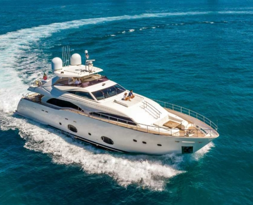 Rent Yacht Ferretti 97 in Miami