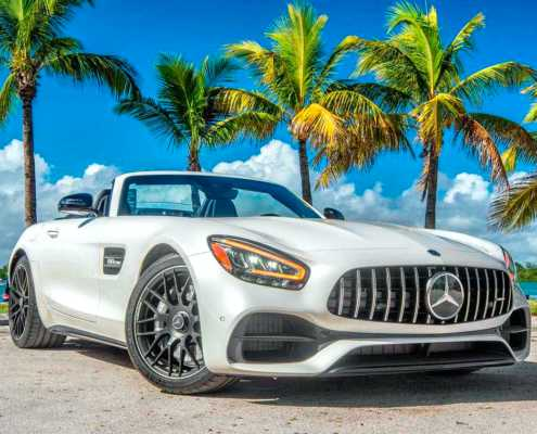 Mercedes GT Roadster AMG 2020 in Miami