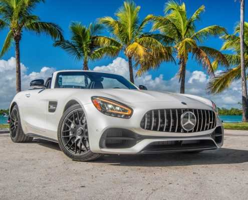 Rent Mercedes GT Roadster AMG 2020 Miami