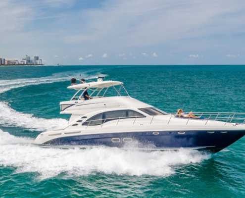 Rent Yacht SeaRay 58 in Miami