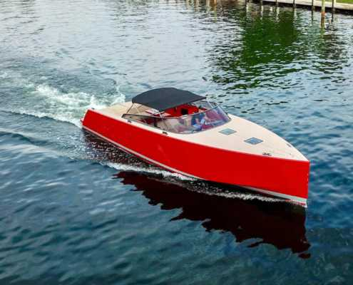 Rent Yacht VanDutch Red 40 in Miami