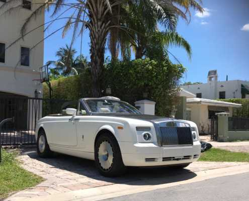 Rent Rolls Royce Phantom in Miami