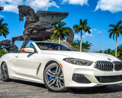BMW M850 in Miami