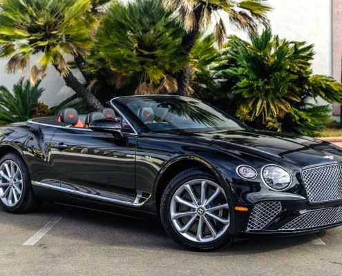 Bentley GTC Mulliner Rent Miami