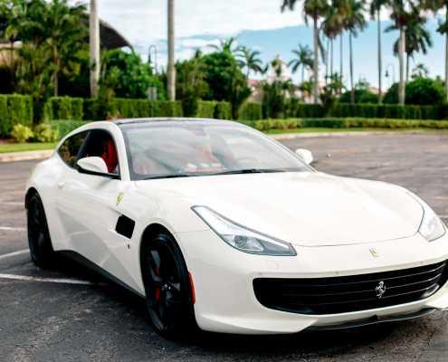 Rent Ferrari GTC4 Lusso T in Miami
