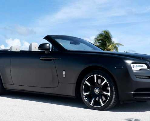 Rent Rolls Royce Dawn 2020 Black
